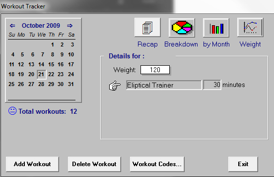 workout program2000